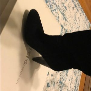 BCBGeneration Shoes - BCBG slouchy knee high boots